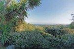 Villa Garennes Ferienhaus in Les Issambres Côte d'Azur Südfrankreich-Garten mit Meerblick