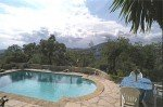 Lavandes Ferienhaus in Les Issambres Côte d'Azur Südfrankreich-Pool und Terrasse