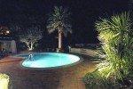 Lorelyn Ferienhaus in Les Issambres Côte d'Azur Südfrankreich-Gartenbeleuchtung