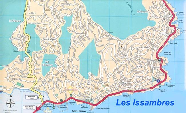 map_issambres